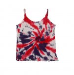 HOT PINK PURPLE WHITE SWIRL Child - Tank Top