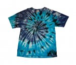 BLACK TURQ. NAVY WHITE SWIRL Mens - T-Shirt