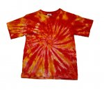 RED ORANGE SWIRL Child - T-Shirt