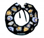 SUN BLUE CLOWN COLLAR